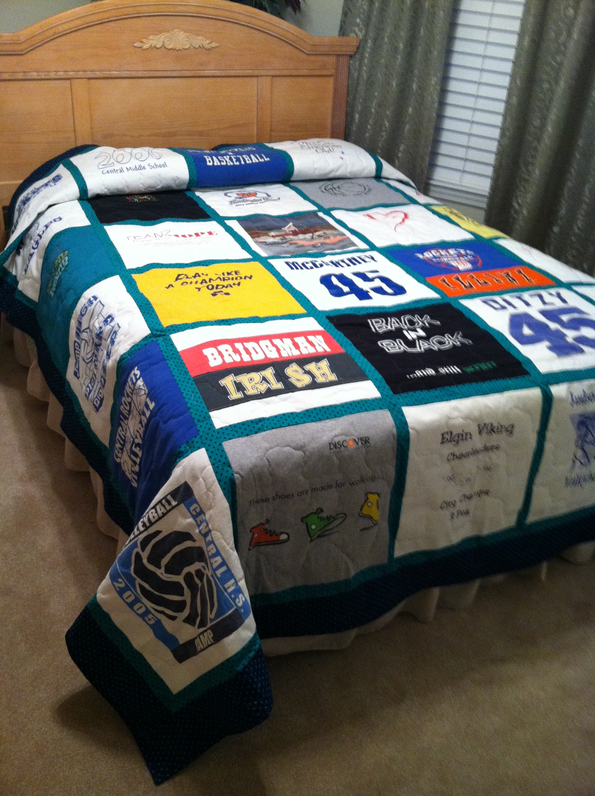 How to Make a T-shirt quilt!